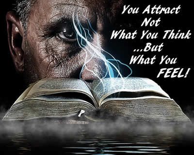 you attract what you feel